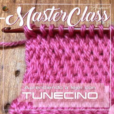 MundoBelli | Aprendiendo a tejer con Tunecino 400